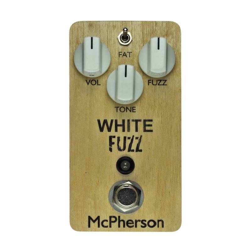 White Fuzz Wood Cat